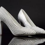 Такие туфли подойдут лучше всего под простое свадебное платье без лишних изысков