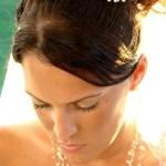 Еще одно украшение свадебной прически невесты