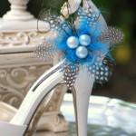 Идеальный образ невесты завершит  жемчужная деталь на обуви
