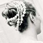 Жемчужная нить в волосах