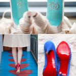 Нужно обязательно сфотографировать свадебную обувь сзади