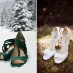 Фотографу обязательно нужно сфотографировать туфельки невесты где-нибудь на природе
