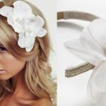 Украшай волосы обручем с романтичным белоснежным обручем с цветком