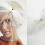 Для невест-оригиналок - три в одном - вуаль, фата и бант