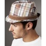 Модная шляпа в клетку