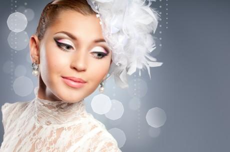 Стойкий свадебный макияж