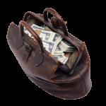 Лучший свадебный подарок - полная сумка денег