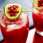 Гранат и лайм - гости могут зарядиться витаминами на всю зиму