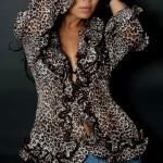 Шикарный леопардовый принт для знойной девушки