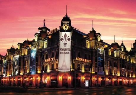 """Номер для первой брачной ночи в """"Royal Hotel De Paris"""""""