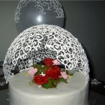 Сладкое украшение торта