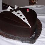 Тортик в виде смокинга
