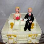 Жених и невеста уже на чемоданах