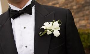 Галстук-бабочка для жениха - как завязать