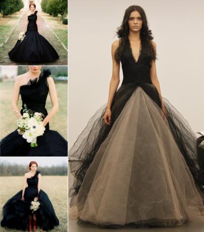 Черное платье невесты