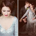 Серебро нынче в моде, поэтому смело украшай наряд драгоценными камнями, стразами и пайетками