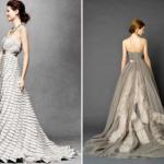 Благородный серый идеально подойдет благородной невесте