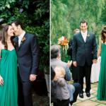 Яркий и сочный зеленый - прекрасное решение для свадебного платья
