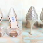 Для нежной и утонченной невесты эти туфельки с открытыми носками станут идеальным решением