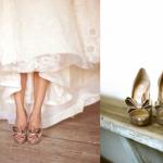 Для невесты-оригиналки необычные свадебные босоножки с бантами