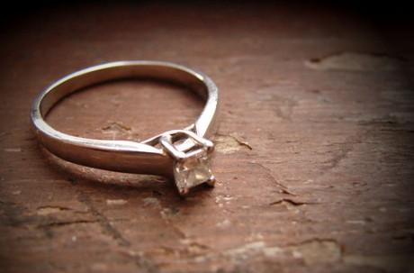 Кольцо для невесты - помолвка