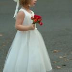 Вся в белом на свадьбе