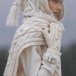 Белоснежный комплект для зимней свадьбы