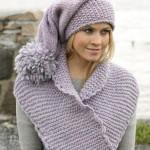 Очень теплые шапка и шарф