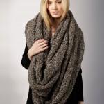 Роскошный огромный шарф