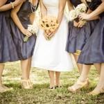 Пышные платья для подружек невесты