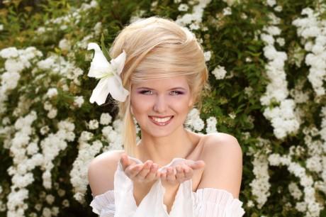 Свадебные аксессуары для волос 2012