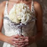 Оригинально оформи свадебный букетик