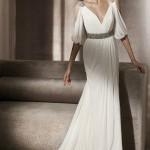 Платье и шлейф для шикарного образа невесты