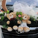 На свадебном авто не куклы, а медведи