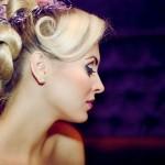 Фиолет на светлых волосах - блеск!