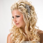 Сияющие локоны невесты