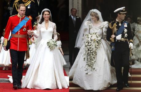 Принцесса Диана и Кейт Миддлтон