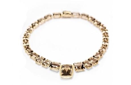 Золотое колье с бриллиантами от Vianna