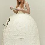 Еще одно свадебное платье-торт