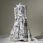 Необычное платье невесты от Лесли Дилл