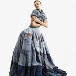 Свадебное платье из джинсов от Гари Харви
