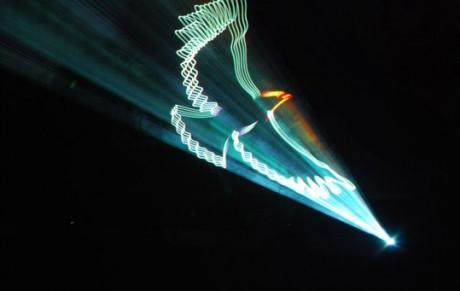 Лазерное шоу в подарок