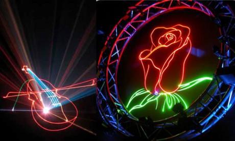Каким может быть лазерное шоу?