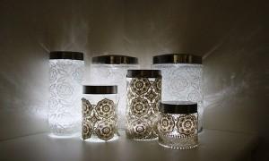 Шикарные кружевные светильники