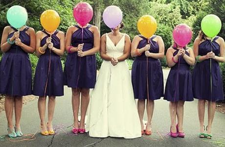 Воздушные шарики для гостей