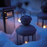 Старые фонарики для винтажной свадьбы