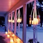 Вместо светильников, подвесь свечи
