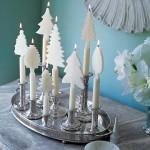 С такими свечами дополнительных украшений не потребуется
