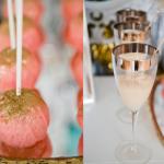 Оформи и десерт в розовом стиле