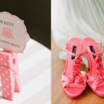 Выбирай на свадьбу стильные розовые босоножки